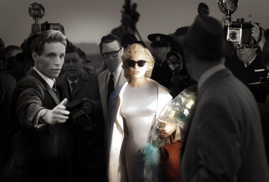 My Week with Marilyn : Photo Dougray Scott, Eddie Redmayne, Michelle Williams, Simon Curtis