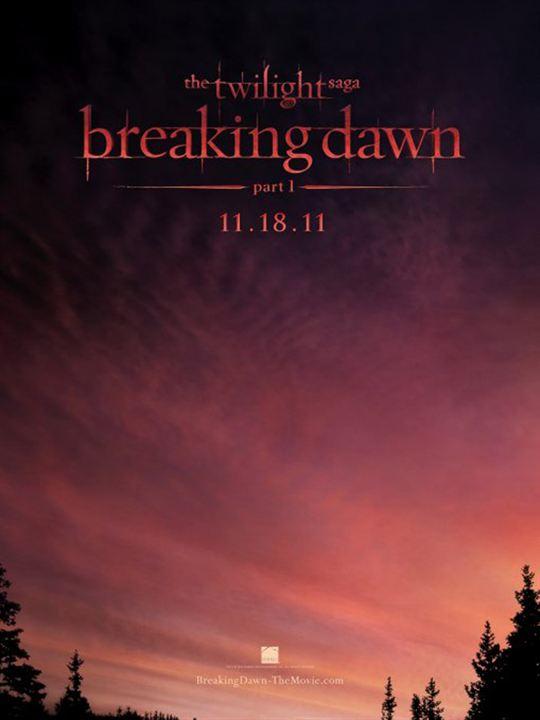 Twilight - Chapitre 4 : Révélation 1ère partie : Affiche