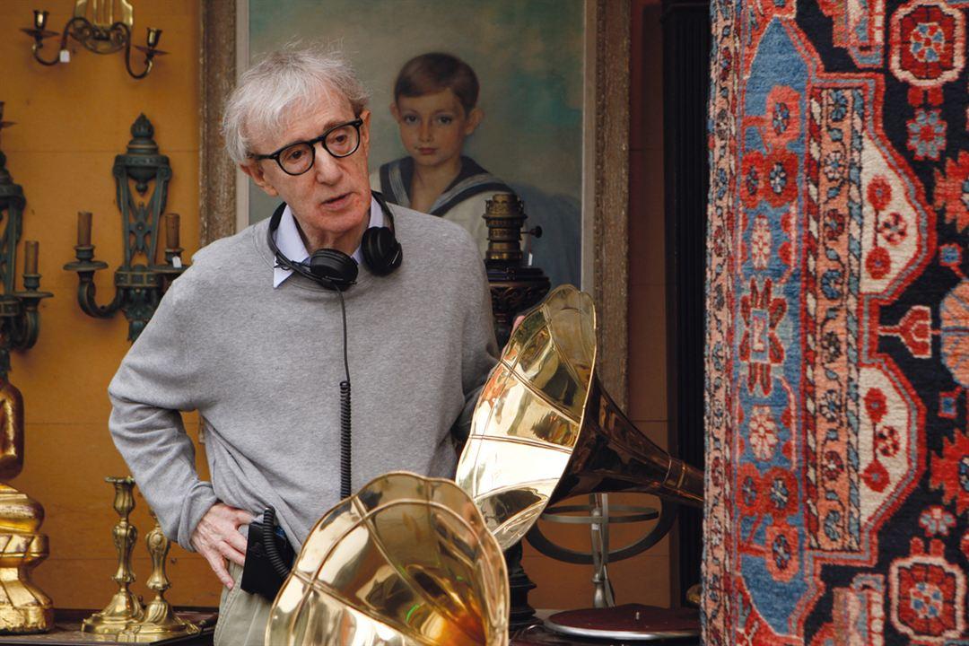 Minuit à Paris : Photo Woody Allen