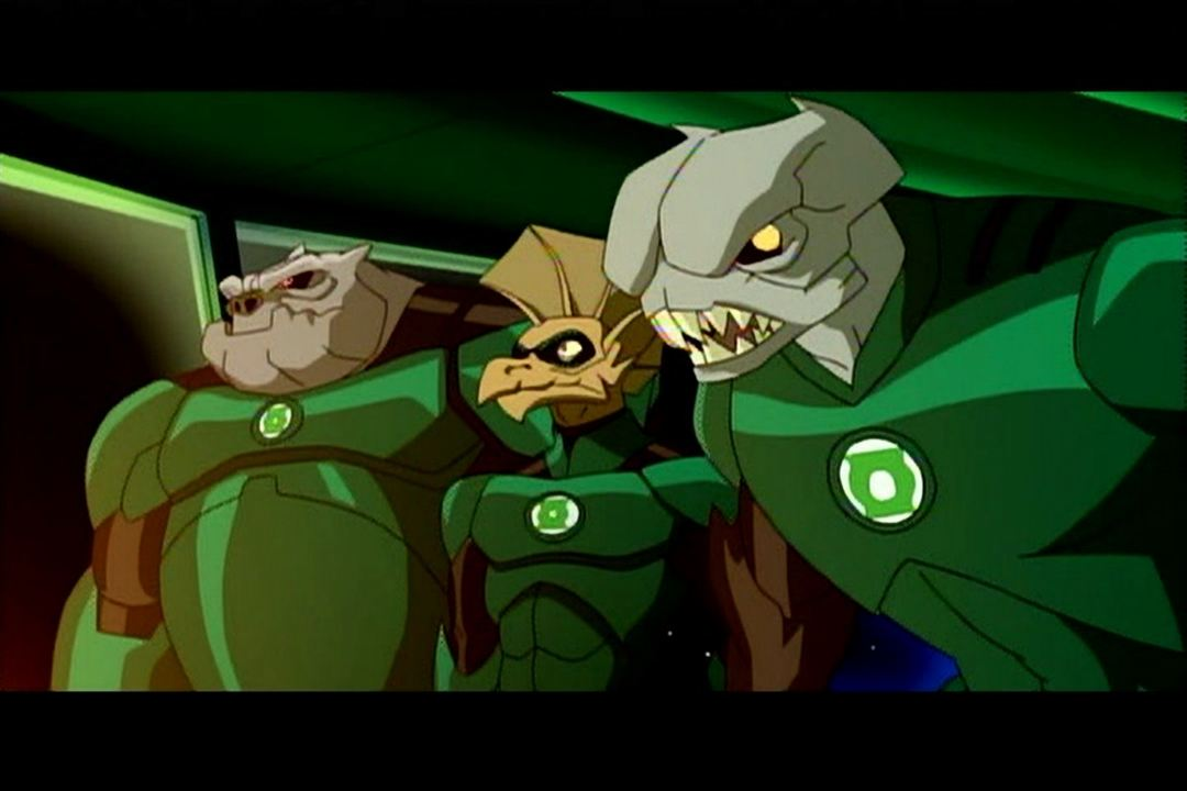 Green Lantern: Les Chevaliers de l'Emeraude : Photo