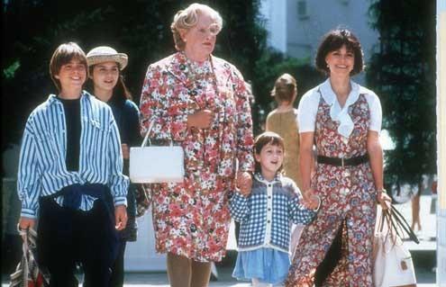 Madame Doubtfire : Photo Lisa Jakub, Mara Wilson, Matthew Lawrence, Robin Williams
