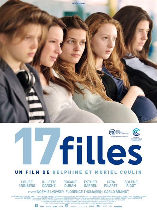 17 filles : Affiche