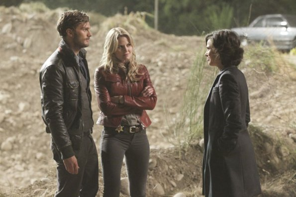 Photo Jamie Dornan, Jennifer Morrison, Lana Parrilla