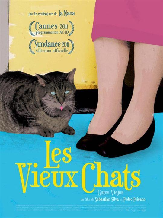 Les Vieux chats : Affiche