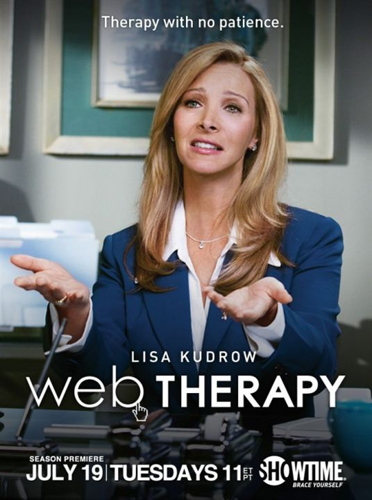 Web Therapy : Affiche Lisa Kudrow