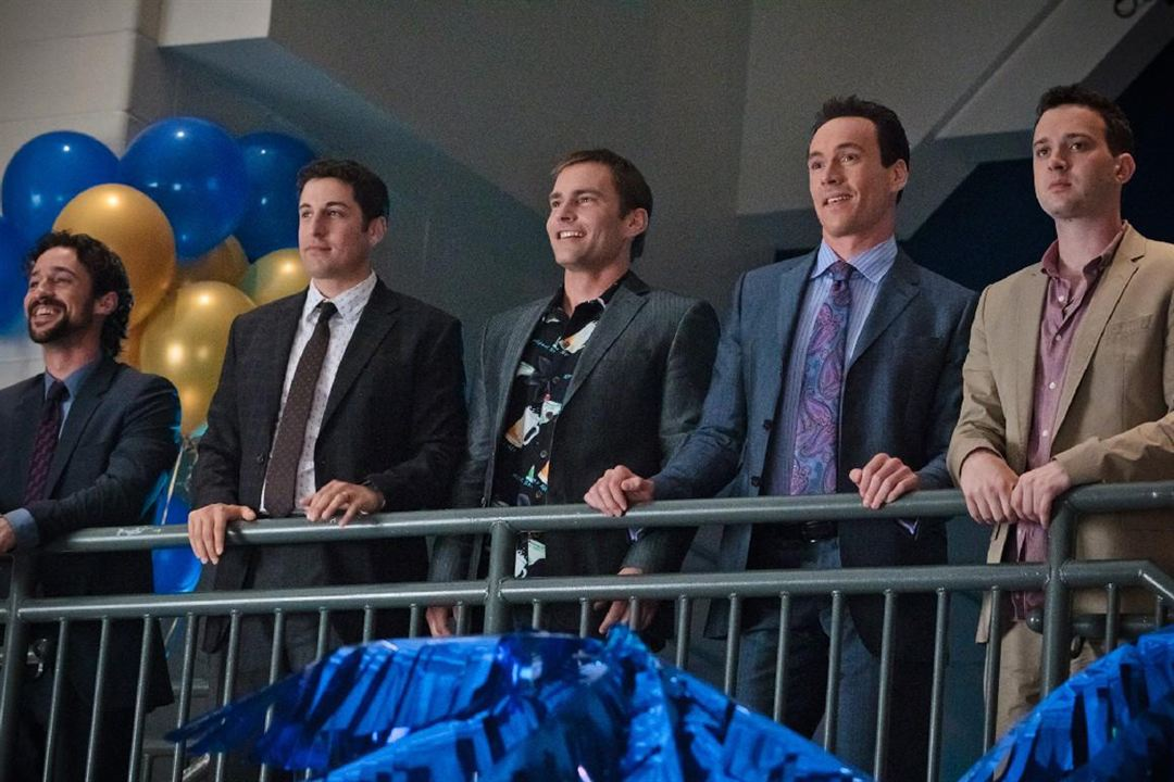 American Pie 4 : Photo Chris Klein, Eddie Kaye Thomas, Hayden Schlossberg, Jason Biggs, Jon Hurwitz
