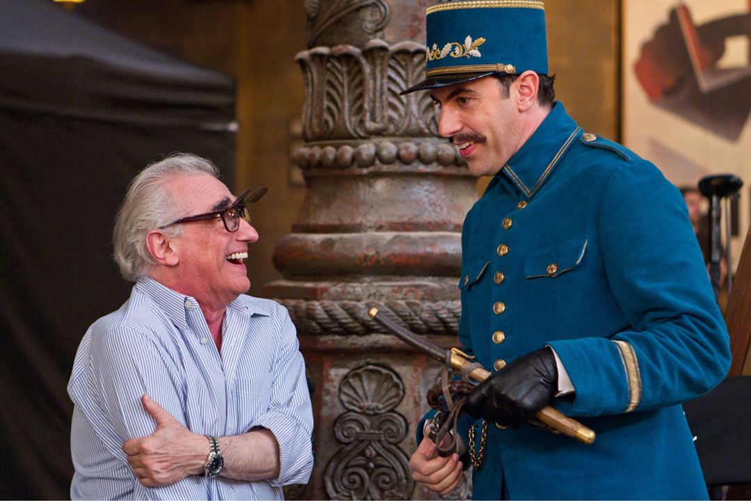 Hugo Cabret : Photo Martin Scorsese, Sacha Baron Cohen