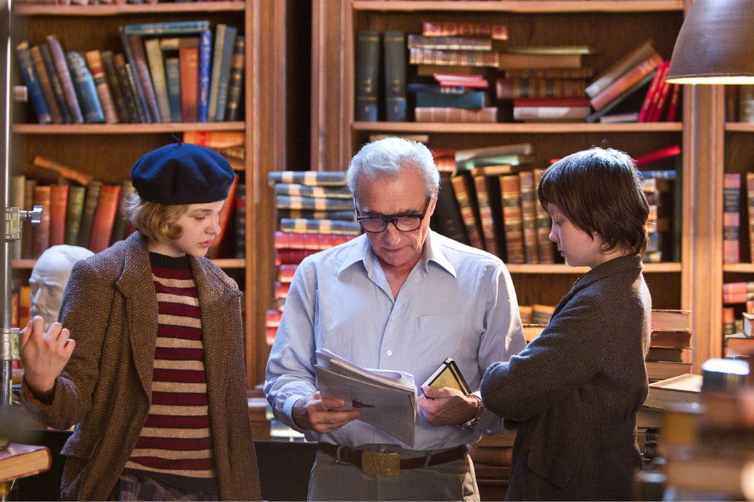 Hugo Cabret : Photo Martin Scorsese