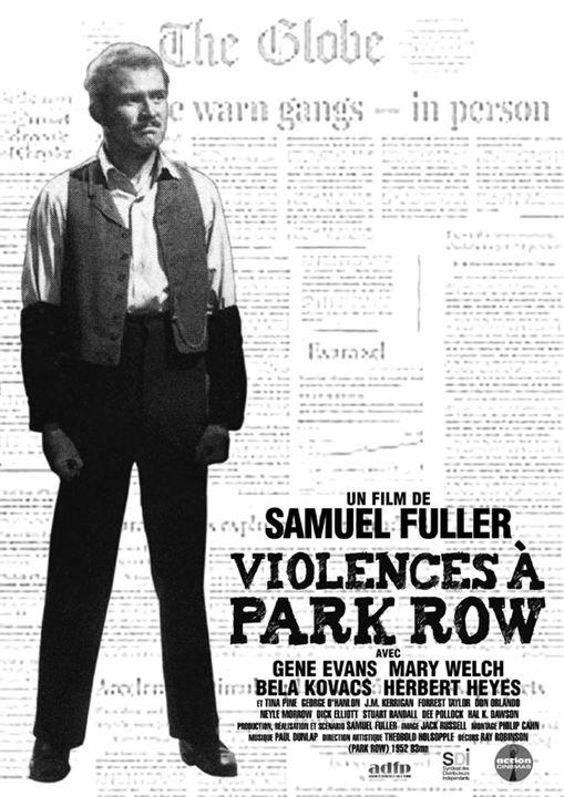Violences a Park Row : affiche