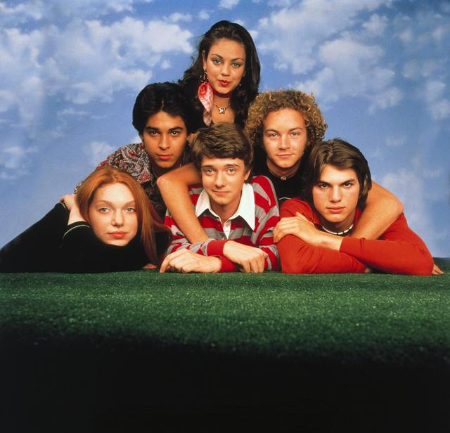 That '70s Show : Photo Ashton Kutcher, Danny Masterson, Laura Prepon, Mila Kunis, Topher Grace