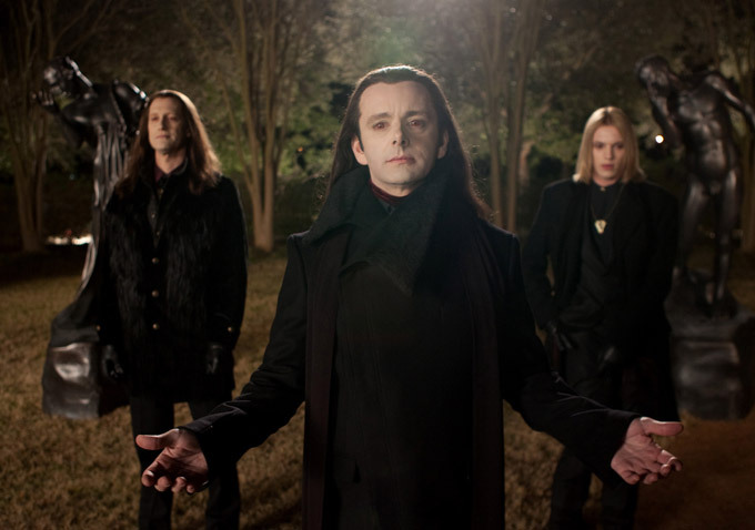 Twilight - Chapitre 5 : Révélation 2e partie : Photo Christopher Heyerdahl, Jamie Campbell Bower, Michael Sheen