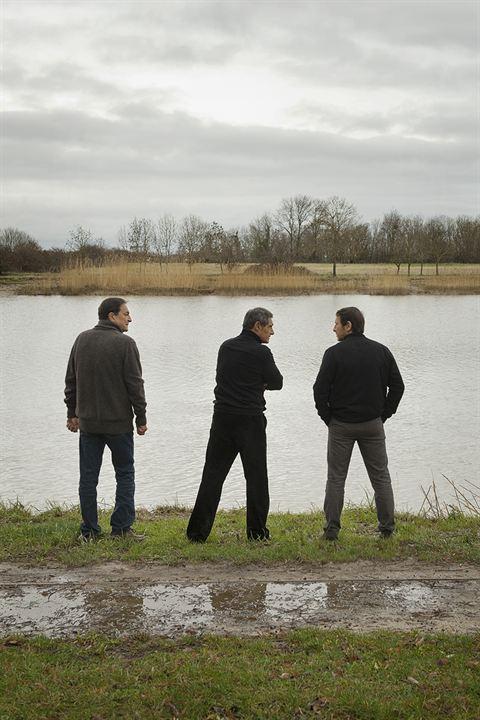 Amitiés sincères : Photo François Prévôt-Leygonie, Gérard Lanvin, Jean-Hugues Anglade, Stephan Archinard, Wladimir Yordanoff