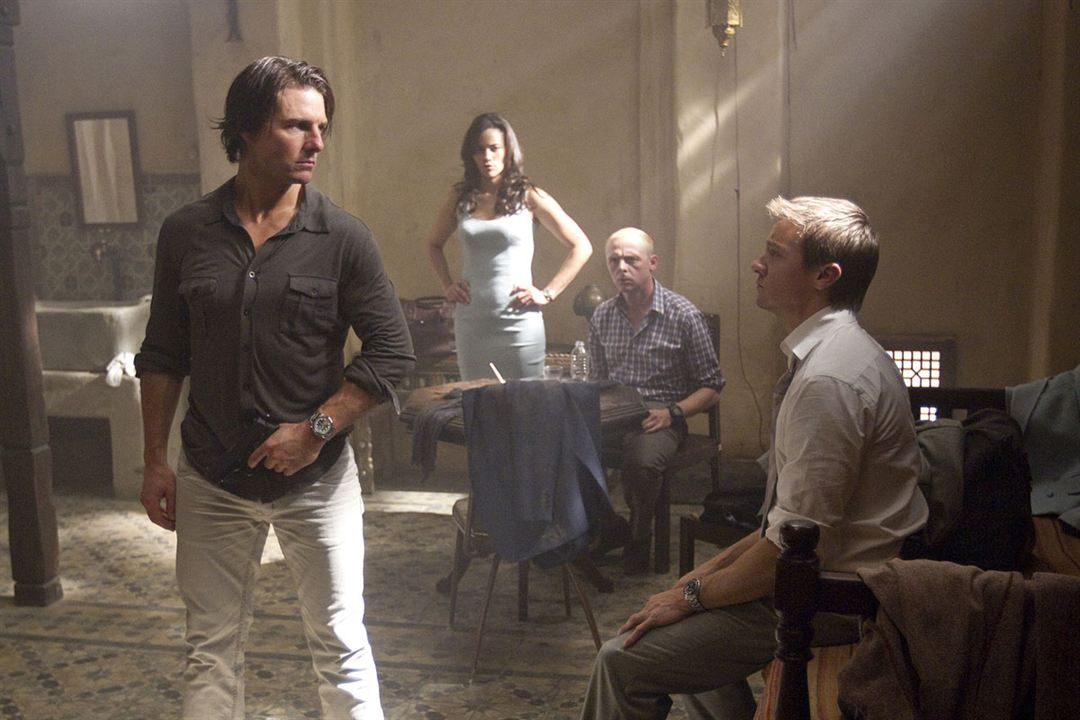 Mission : Impossible - Protocole fantôme : Photo Jeremy Renner, Paula Patton, Simon Pegg, Tom Cruise