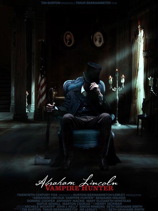 Abraham Lincoln : Chasseur de Vampires : Affiche