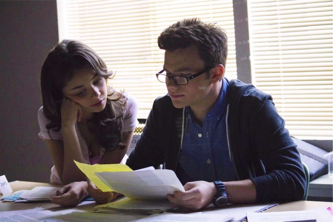 Struck : Photo Chris Colfer, Sarah Hyland