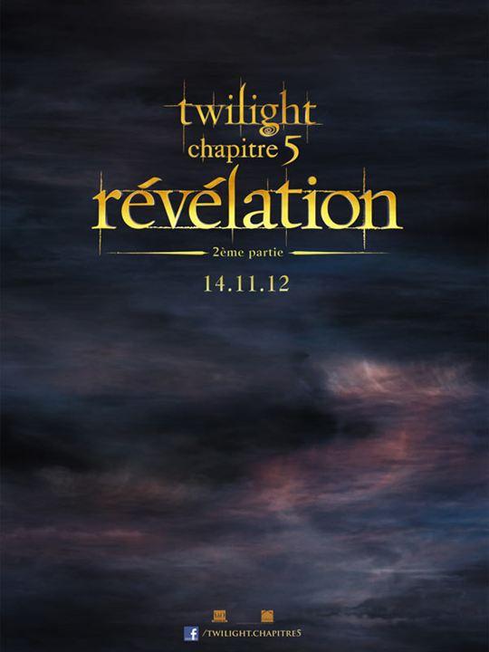 Twilight - Chapitre 5 : Révélation 2e partie : Affiche Stephenie Meyer
