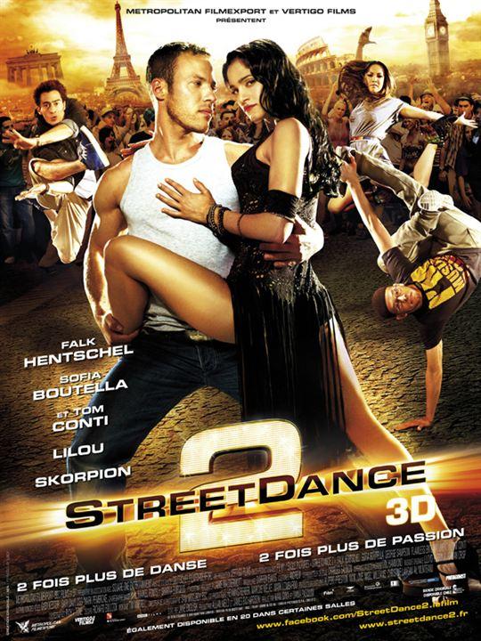 """Street Dance 2 [3D] : Affiche Brice Larrieu """"Skorpion"""", Dania Pasquini, Falk Hentschel, Max Giwa"""