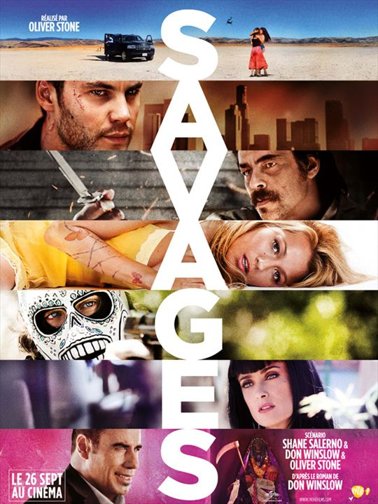 Savages : Affiche