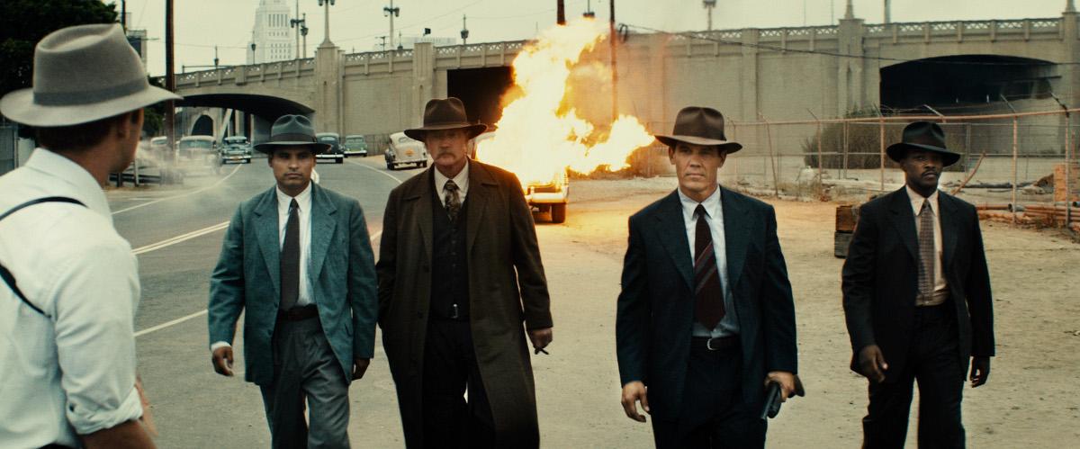 Gangster Squad : Photo Anthony Mackie, Josh Brolin, Michael Peña, Robert Patrick