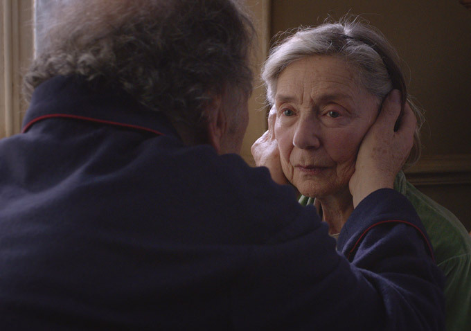 Amour : Photo Emmanuelle Riva, Jean-Louis Trintignant