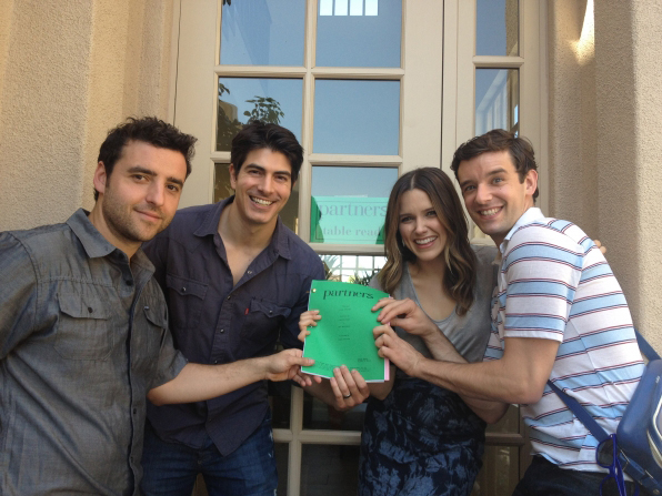 Photo Brandon Routh, David Krumholtz, Michael Urie, Sophia Bush