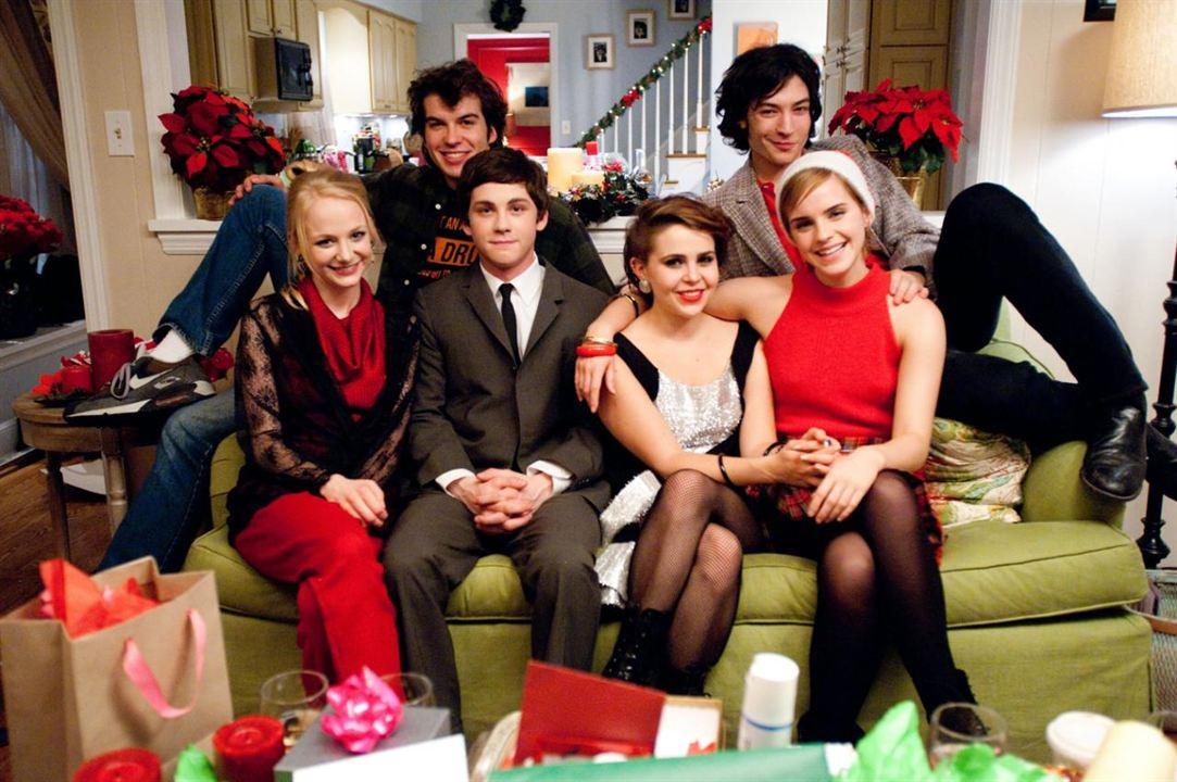 Le Monde de Charlie : Photo Adam Hagenbuch, Emma Watson, Erin Wilhelmi, Ezra Miller, Logan Lerman
