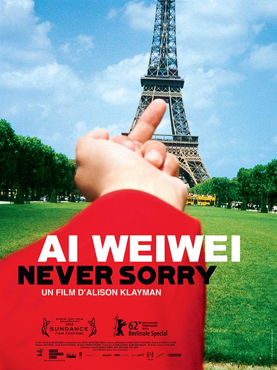 Ai Weiwei: Never Sorry : Affiche
