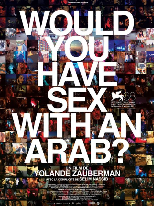 Would you have sex with an Arab? : affiche