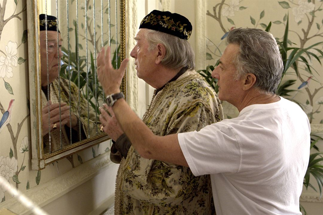 Quartet : Photo Dustin Hoffman, Michael Gambon