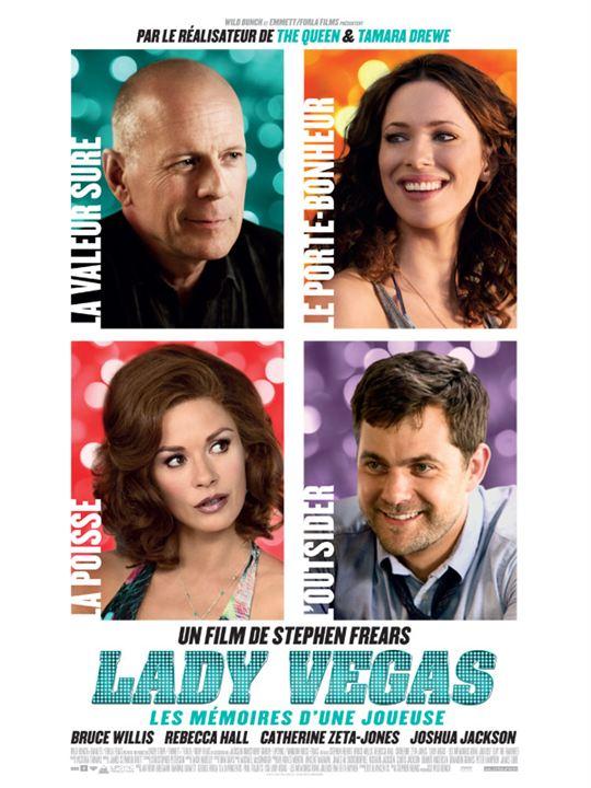 Lady Vegas -  Les Mémoires d'une joueuse : Affiche