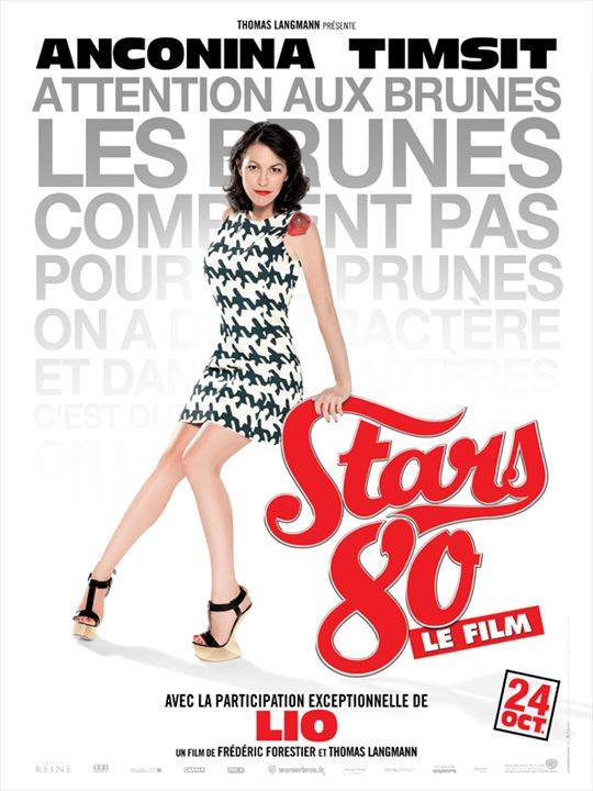 Stars 80 : Affiche Frédéric Forestier, Lio
