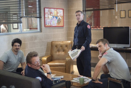 Photo Christian Stolte, David Eigenberg, Jesse Spencer, Yuri Sardarov