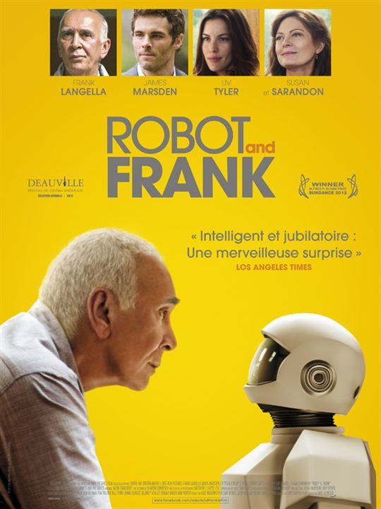 Robot and Frank : Affiche