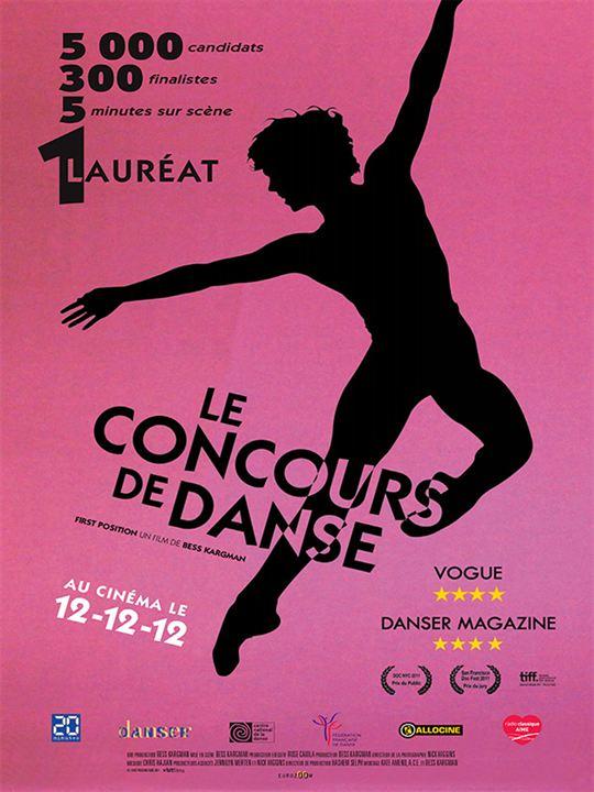 Le Concours de danse : Affiche
