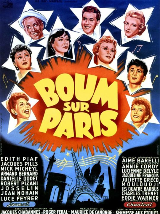 Boum sur Paris : affiche