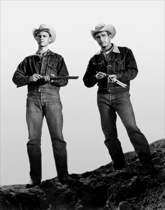 Le Plus sauvage d'entre tous : Photo Brandon De Wilde, Paul Newman