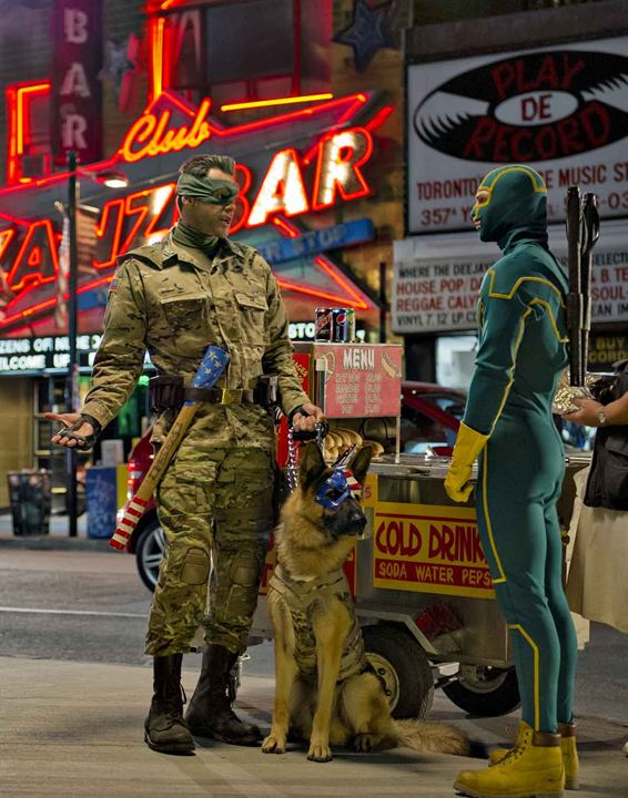 Kick-Ass 2 : Photo Aaron Taylor-Johnson, Jim Carrey