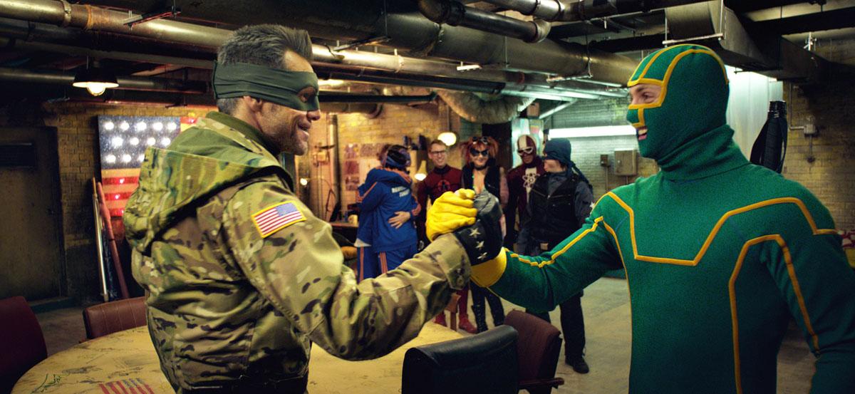 Kick-Ass 2 : Photo Aaron Taylor-Johnson, Jim Carrey