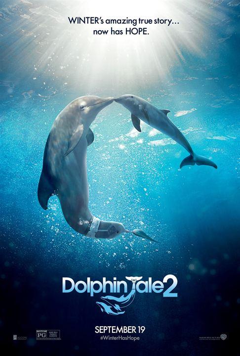 L'Incroyable Histoire de Winter le dauphin 2 - Sortie le 17 septembre 2014
