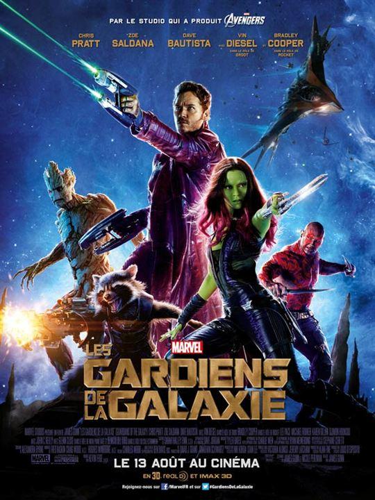 Les Gardiens de la Galaxie - Sortie le 13 août 2014