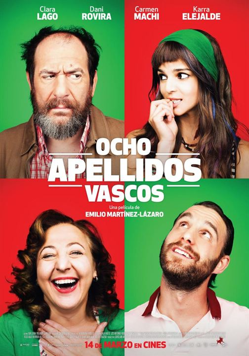 OCHO APELLIDOS VASCOS: Plus gros succès du cinéma espagnol en 2014