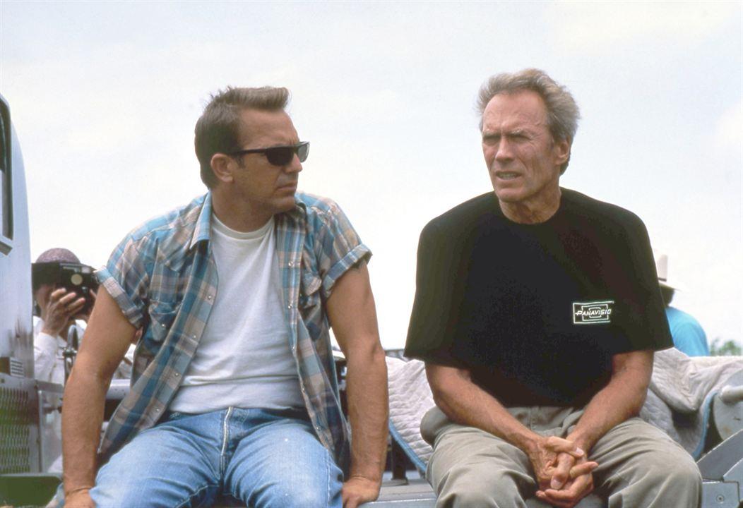 """Les deux hommes d'""""Un monde parfait"""" (1993)"""