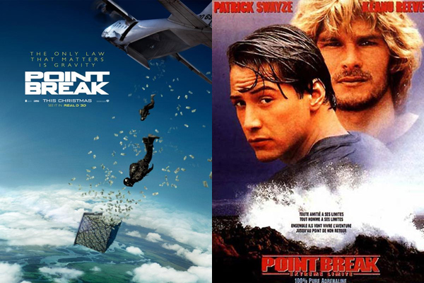 bande annonce point break comparatif des versions 2015 et 1991 derri re la cam ra allocin. Black Bedroom Furniture Sets. Home Design Ideas