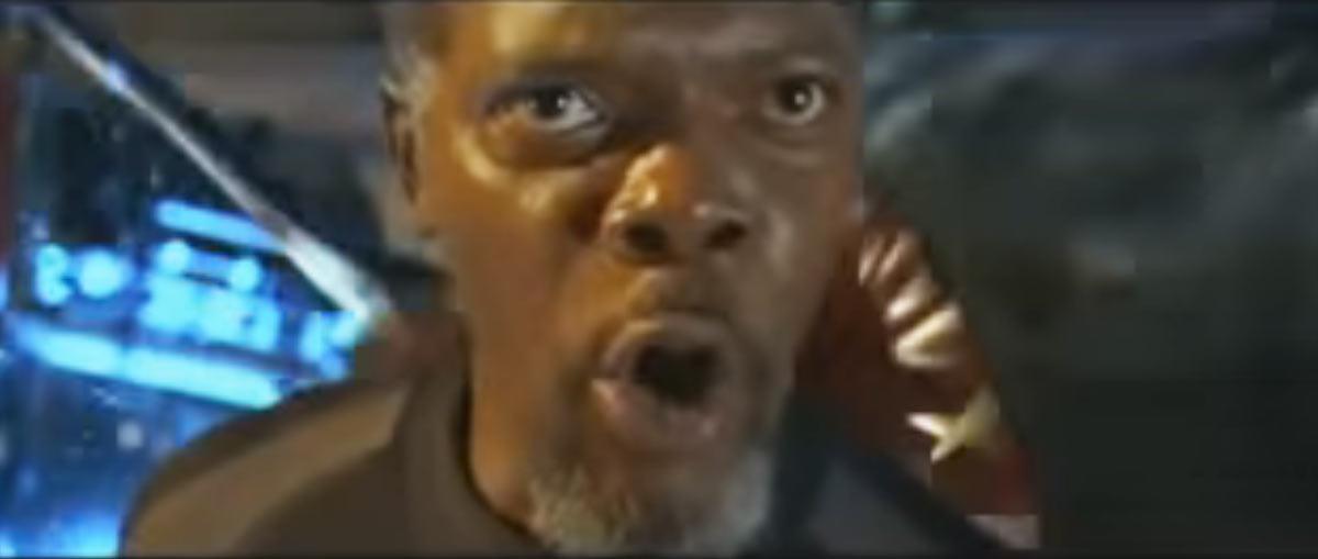 """Samuel L. Jackson dans """"Peur Bleue"""" (1999)"""