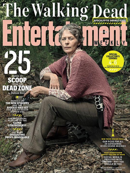 The Walking Dead : les héros prennent la pose