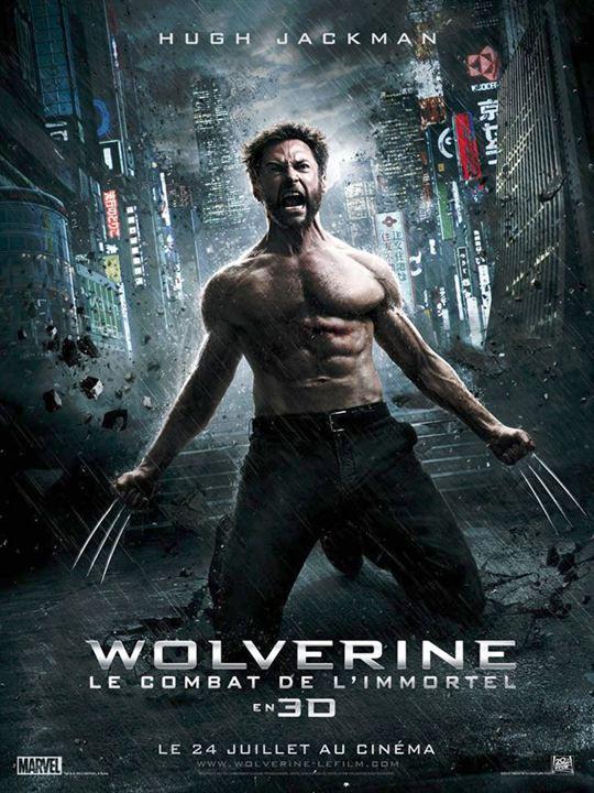 Numéro 4 : Wolverine : le combat de l'immortel - 414,82 millions de dollars de recettes dans le monde
