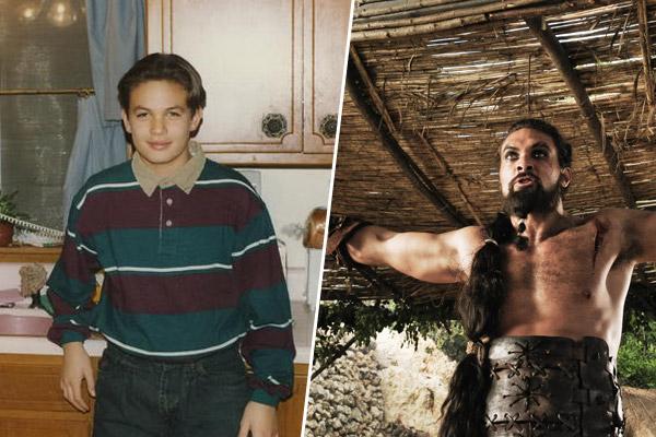 Jason Momoa alias Khal Drogo