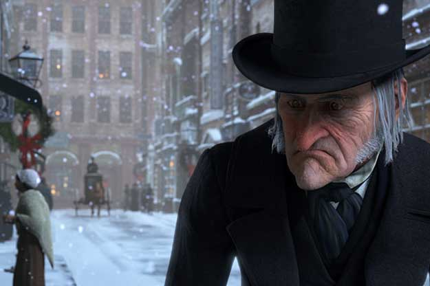 """""""Le Drôle de Noël de Scrooge"""" de Robert Zemeckis"""