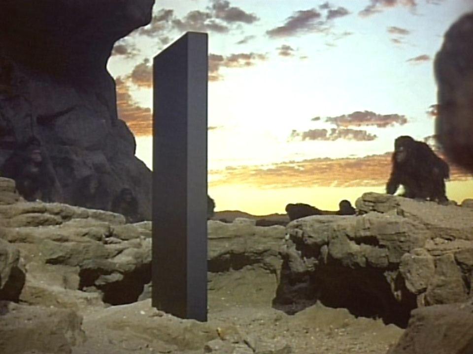 """Le monolithe noir de """"2001 l'odyssée de l'espace"""""""