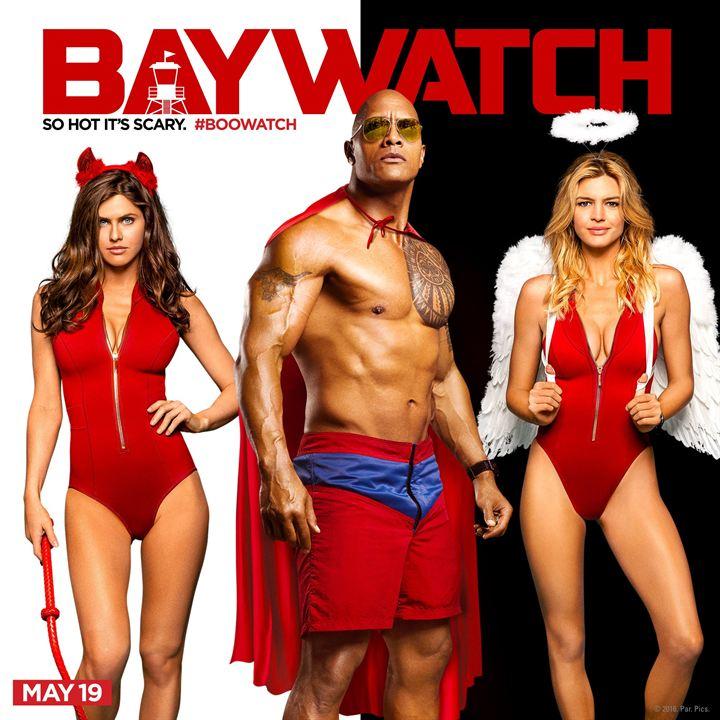 Baywatch fête Halloween